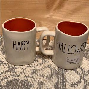 Rae Dun Happy Halloween Mugs Set of 2